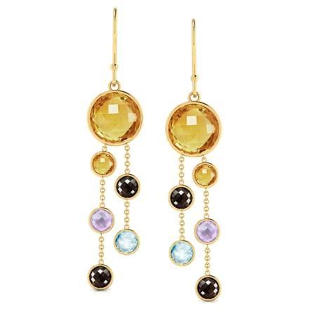 gemstone chandelier earrings gemstone chandelier earrings jewellery india