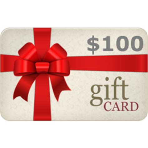 Gift Card Policy - 100 gift card
