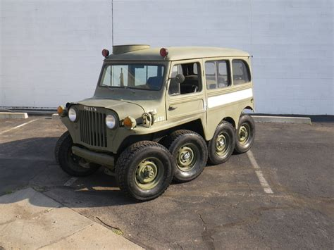 willys jeepster rubicon4wheeler willys jeep 8x8 creation