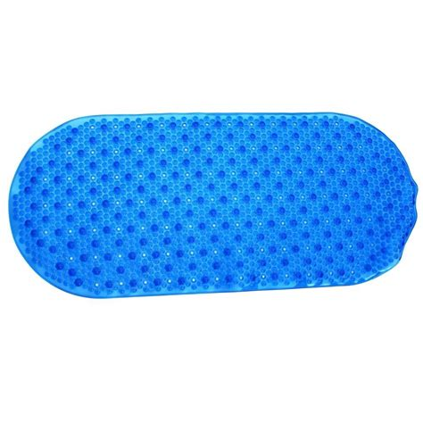 bathtub bubble mat slipx solutions 15 in x 35 in bubble bath mat with