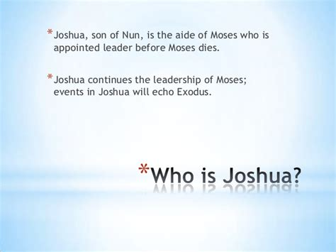 key themes book of joshua joshua