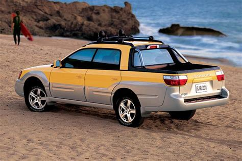 subaru truck car the subaru baja is holding its value ridiculously well