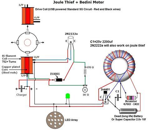 joules thief circuit diagram schematics for joule thief bedini doovi