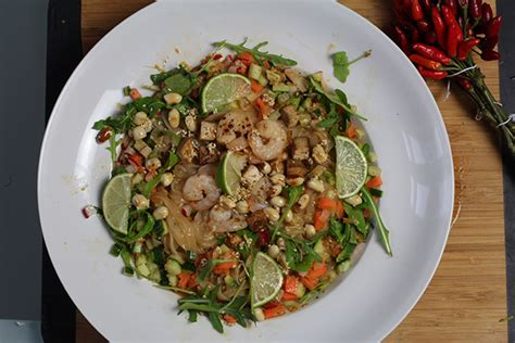 hot thai salad berries passion