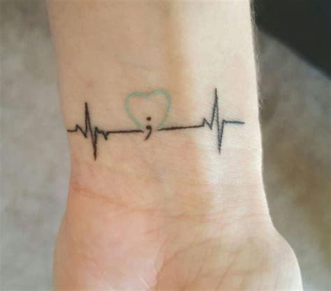 31 best semicolon heart tattoo semicolon meaning 53 semi colon tattoos designs