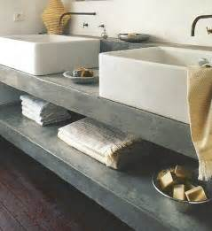 bathroom countertop shelves cement countertops and open shelf home
