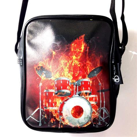 Miniatur Drum Ramones borsa tracolla drums about