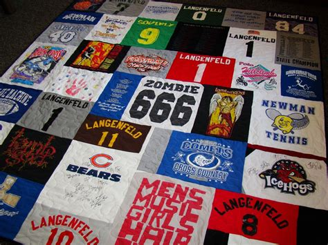 King Size T Shirt Quilt by Crafted King Size Custom Tshirt Quilt By 3 Stitch Creations Custommade