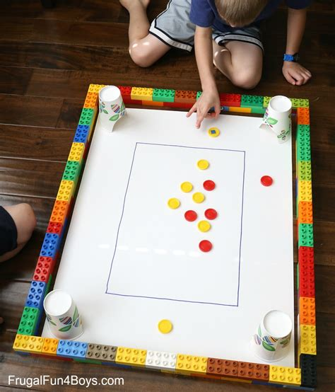 home made games homemade carrom game for kids frugal fun for boys and girls