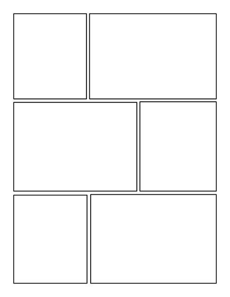 Free Printable Comic Template