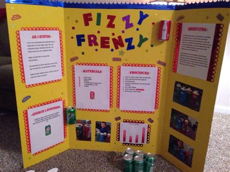 Science Fair Display Board Ideas Elementary Science Fair Display Board Kids School