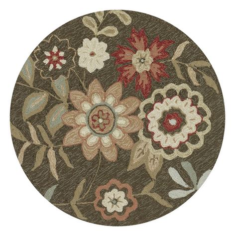 Francesca Brown Round 3 Ft Rug Loloi Area Rugs Rugs Home 3 Foot Rugs