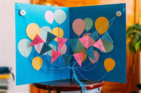 how to make big greeting cards paper mementos crafting days a big happy birthday card