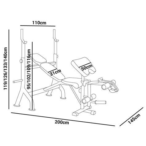 bancos pesas banco de musculacion pesas entrenamiento fitness