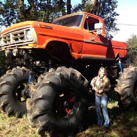 monster trucks in the mud videos big ford mud truck ford pinterest freak show