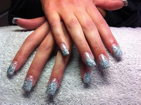 Glitter Acrylnagels by Glitter Acryl Uitgewaaierd Lovelynails