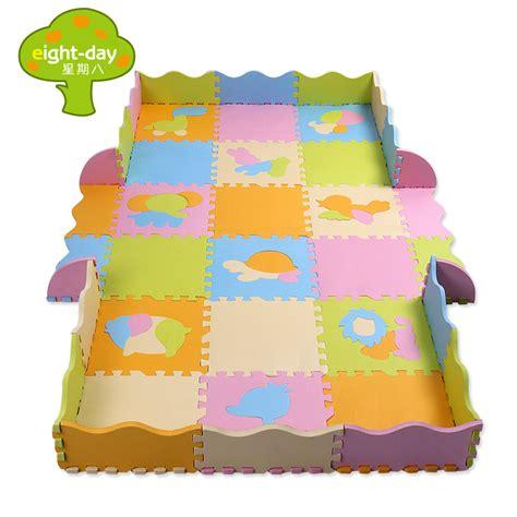 Interlocking Foam Mats For Babies by Foam Play Mats Baby Crawling Mat Fence Puzzle Soft Floor Children Interlocking