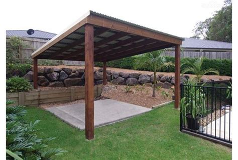 Simple Pergola Design With Metal Roof Garden Ideas Easy Pergola Ideas