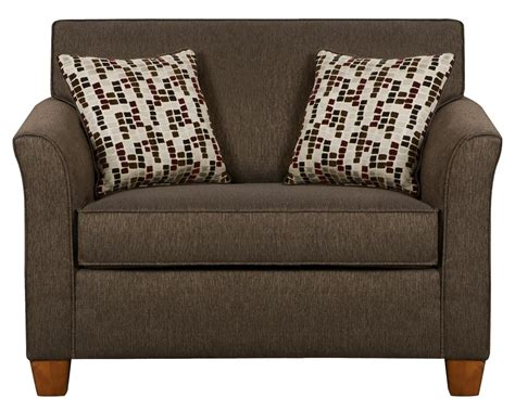 twin size sofa sleeper simmons upholstery 7251 twin size sofa sleeper in casual