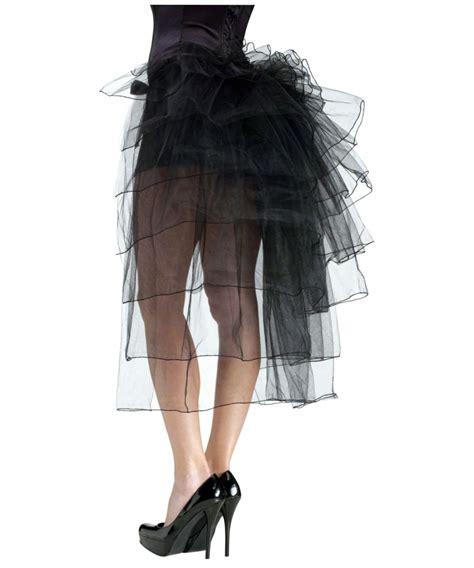 tutu bustle black womens skirt costume