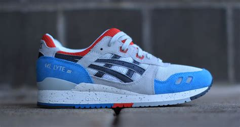 Asics Gel Lyte Iii Grey Light Blue asics gel lyte iii grey light blue kicks