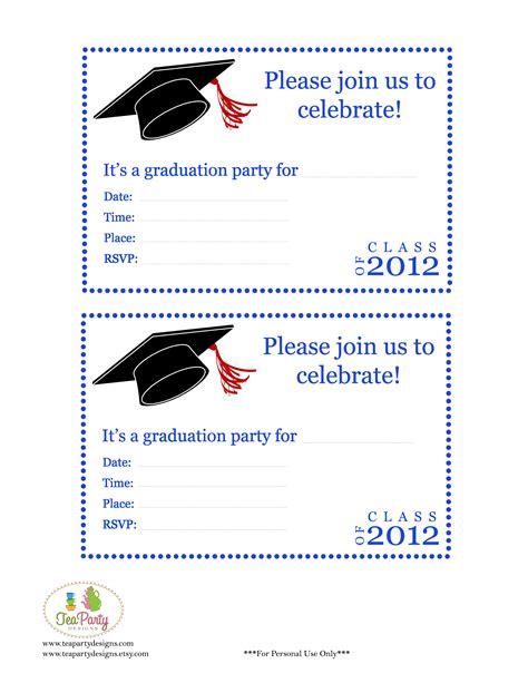 Free Preschool Graduation Invitations Free Printable Preschool Graduation Invitation Templates