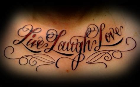 live laugh inked138 tattoos live laugh