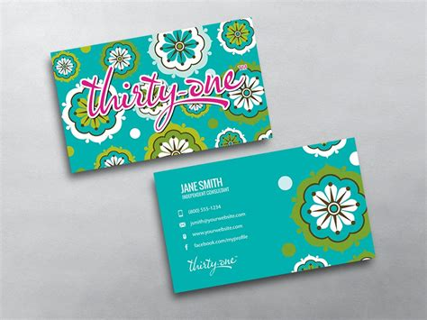 Thirty One Business Cards