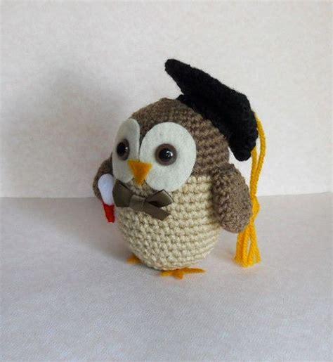 free crochet pattern amigurumi graduation owl amigurumi graduation owl crochet plush