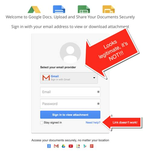 Google Giveaways Legit - i almost fell for this google docs phishing scam watch out hightechdad