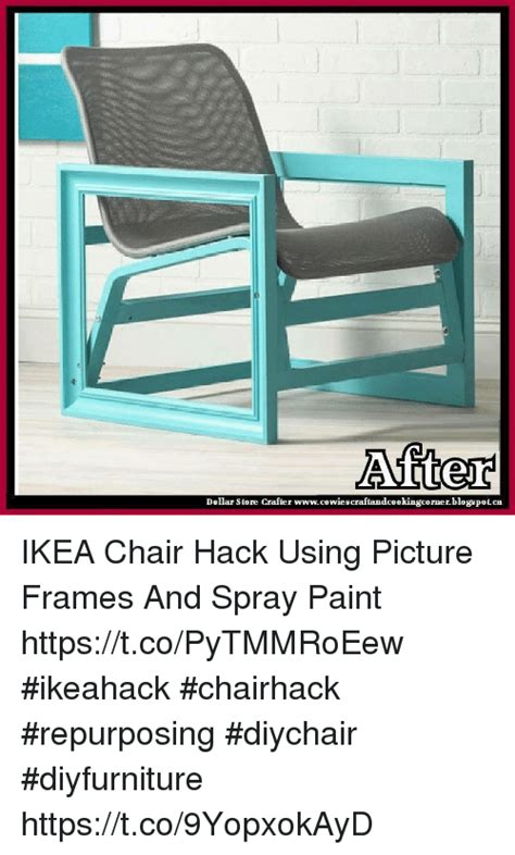 hack and paint dollar store crafter wwwcowiescraftandcookingcornerblogspotca ikea chair hack using picture