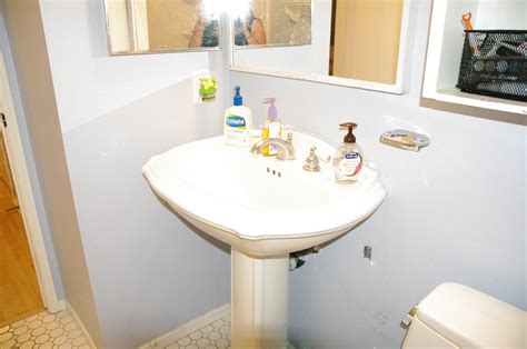 the diy bathroom remodel