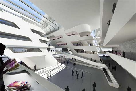 Arc Centre For Mba by Of Economics Business Vienna Zaha Hadid E