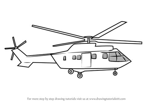 Helicopter Drawing Easy learn how to draw helicopter easy step