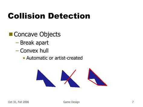 Visitor Pattern Collision Detection | ppt collision detection powerpoint presentation id 238041