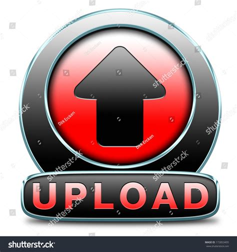 film up load upload file document movie video button stock illustration