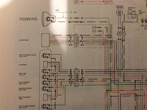 wiring diagrams klx klr 600 650 thumpertalk
