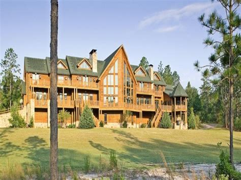 Large Cabin Plans Lodge Log Homes Floor Plans Log Lodge Designs Log Home
