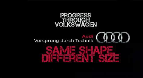 Audi Slogan by German Car Brand Stereotypes Redefined Honest Slogans