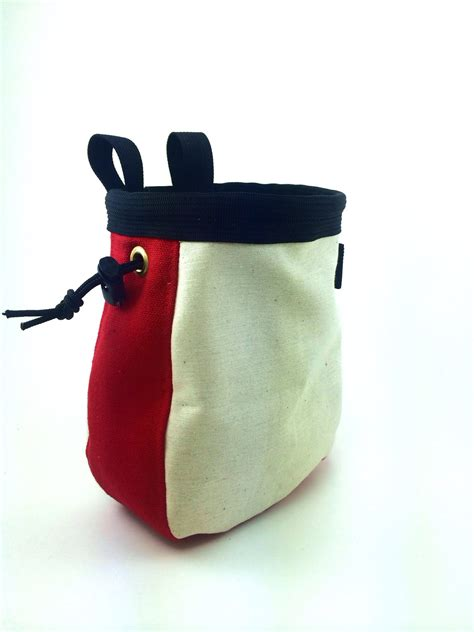 Handmade Chalk Bag - one color custom chalk bag vangroover bag