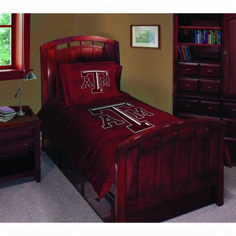 texas a m comforter texas a m aggies ncaa college twin comforter set 63 quot x 86 quot