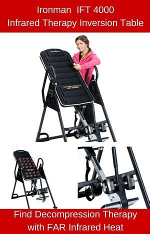 ironman ift 4000 infrared therapy inversion table 10 best top 10 best selling inversion tables reviews