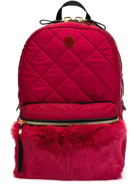 Quilted Back Pack by Moncler Quilted Backpack In Lyst