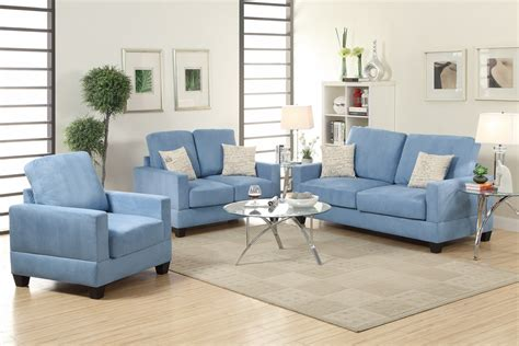 Blue Sofa And Loveseat by Rebel Blue Wood Sofa Loveseat And Chair Set A Sofa