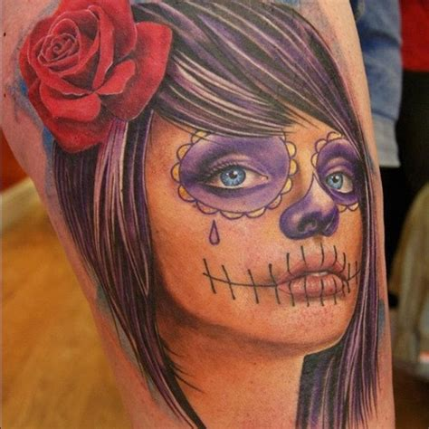 Catrina Top top 15 les plus belles catrinas tatouages