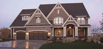 Two tone exteriors parade of homes