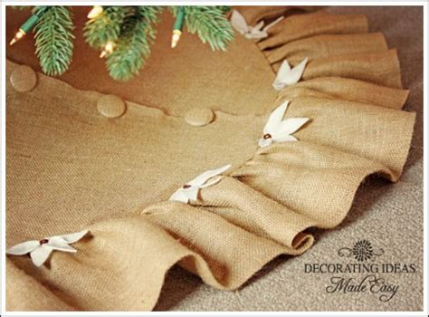 christmas tree skirt pattern that is easy and gorgeous