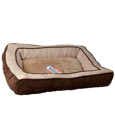 snoozzy dog bed precision pet precision pet snoozzy chevron chenille
