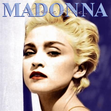 Cd Madonna true blue fanmade cover madonna fanmade artworks