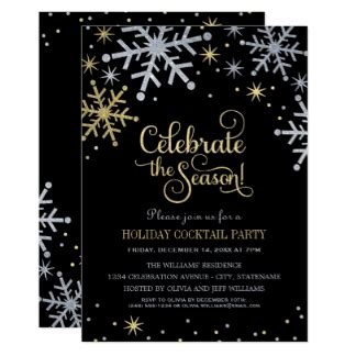 christmas cocktail party invitations holiday party invitations holiday invitations zazzle